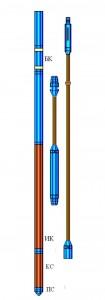 Прибор комплексный электрического каротажа К1А-723-МС