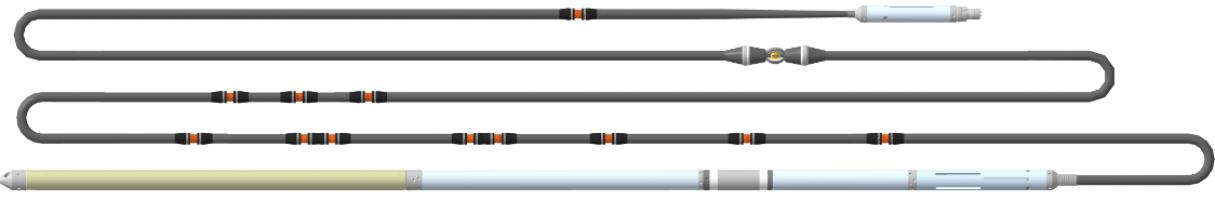 Прибор комплексный электрического каротажа К1А-723-М, К1А-723-МТ, К1А-723-МФ