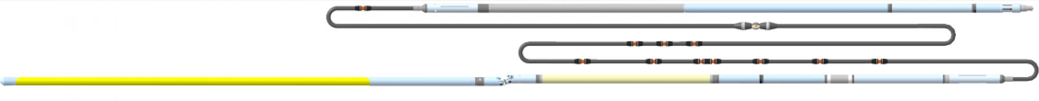 Прибор комплексный для каротажа бурящихся скважин в открытом стволе К7А-723-МН(К8)