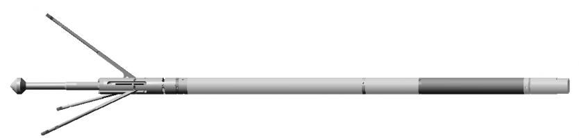 Каверномер скважинный малогабаритный КСМ-43-3